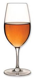 Port in wijnglas
